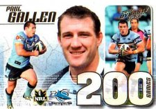 2012 NRL Dynasty Case Card CC39 Paul Gallen Sharks #78