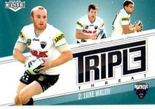 2013 NRL Elite Triple Threats TT29 Luke Walsh Panthers
