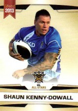 2013 NRL Limited Edition #31 Shaun Kenny-Dowall Roosters NRL All Stars