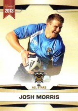 2013 NRL Limited Edition #33 Josh Morris Bulldogs NRL All Stars