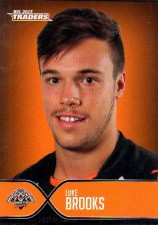 2015 NRL Traders Faces of the Game #FOTG46 Luke Brooks Tigers
