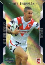2014 NRL Elite Gold Parallel #SP115 Joel Thompson Dragon