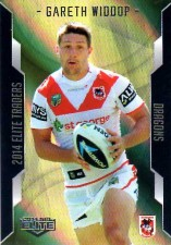2014 NRL Elite Gold Parallel #SP116 Gareth Widdop Dragons