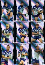 2014 NRL Elite 9-Card Silver Parallel Team Set Canterbury Bulldogs
