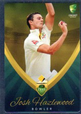 2015/16 CA & BBL Cricket Silver Parallel #P4 Josh Hazelwood Australian Test