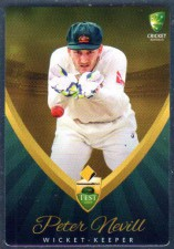 2015/16 CA & BBL Cricket Silver Parallel #P10 Peter Nevill Australian Test
