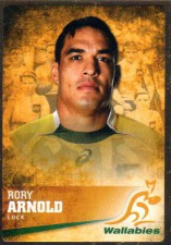 2016 Rugby Gold Parallel #2 Rory Arnold Wallabies
