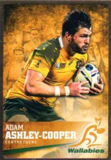 2016 Rugby Gold Parallel #3 Adam Ashley-Cooper Wallabies