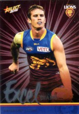 2016 AFL Footy Stars Excel Parallel #EP18 Dayne Beams Lions