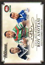 2014 NRL Traders Retirements #R1 Roy Asotasi Rabbitohs Bulldogs