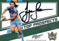 2012 NRL Dynasty Top Prospects Signature TPS5 Ryan James Titans #239/300