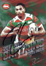 2017 NRL Captains *Artist Signed*