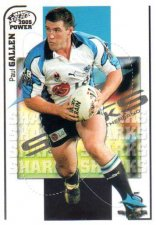 2005 NRL Power Base Card 44 Paul Gallen Sharks