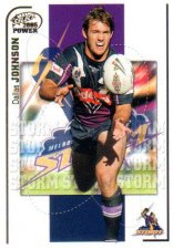 2005 NRL Power Base Card 68 Dallas Johnson Storm