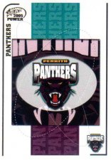 2005 NRL Power Base Card 111 Penrith Panthers Header
