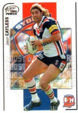 2005 NRL Power Base Card 149 Jason Cayless Roosters