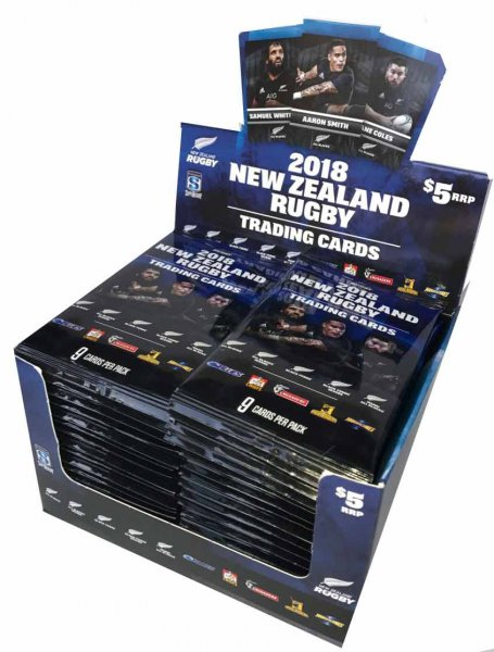 2018 New Zealand Rugby Trading Card Box