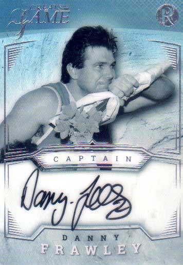 2017 Regal Greats of the Game Captain Signature CPT-TF Danny Frawley #5/25