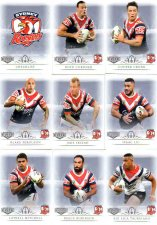 2018 TLA NRL Elite 9-Card Mini Base Team Set Sydney Roosters