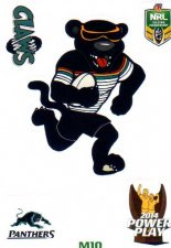 2014 NRL Power Play Mascot Sticker M10 Penrith Panthers